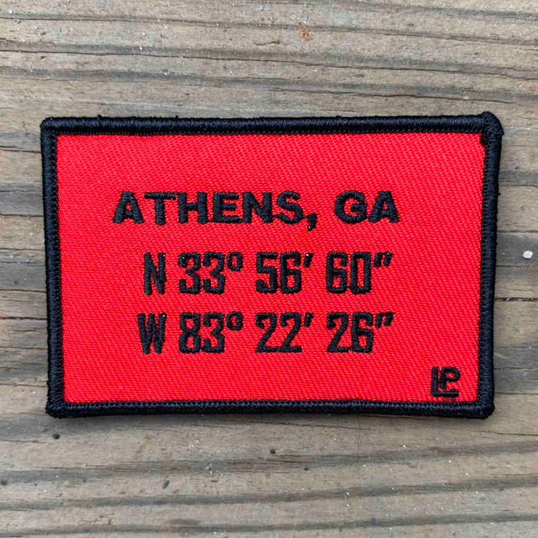 Athens Stadium Coordinates 2x3 Loyalty Patch
