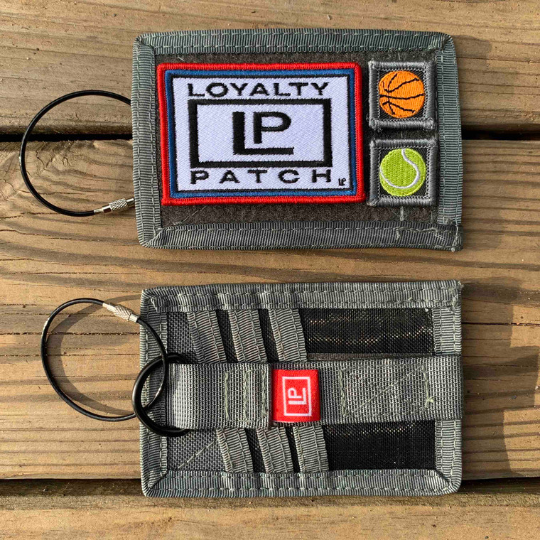 Keychain Wallet - Charcoal