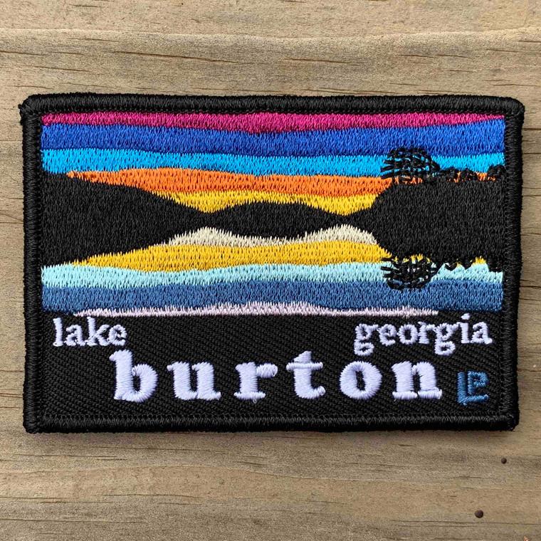Lake Burton Sunset 2x3 Loyalty Patch