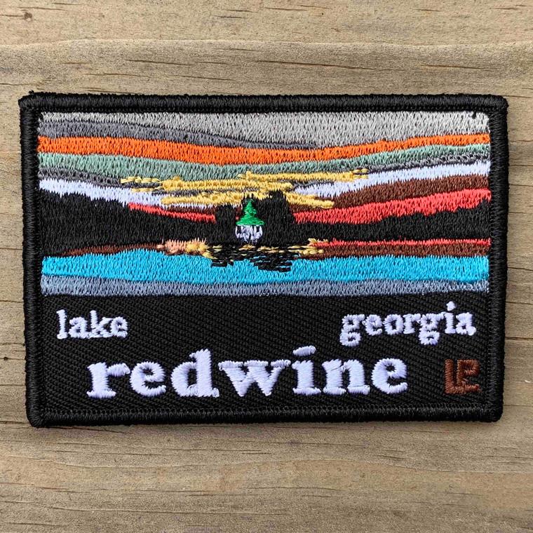 Lake Redwine Sunset 2x3 Loyalty Patch