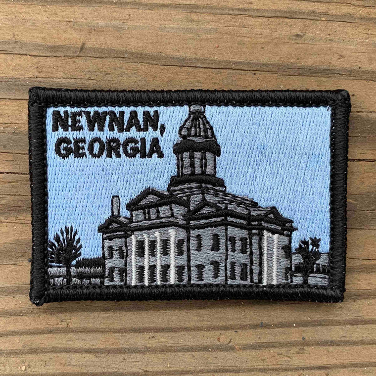 Newnan Courthouse 2x3 Loyalty Patch
