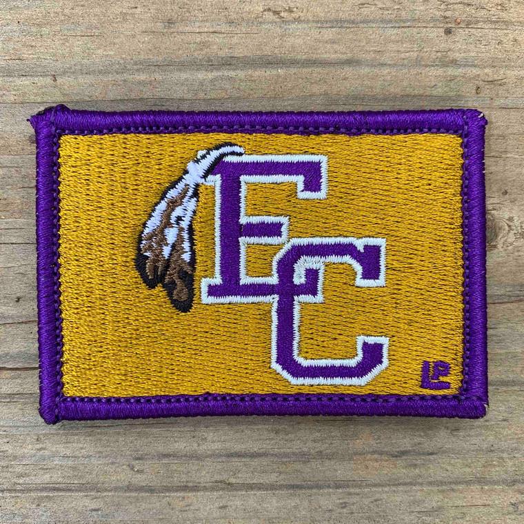 East Coweta High School 2x3 Loyalty Patch