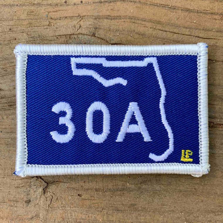 30A Blue 2x3 Loyalty Patch
