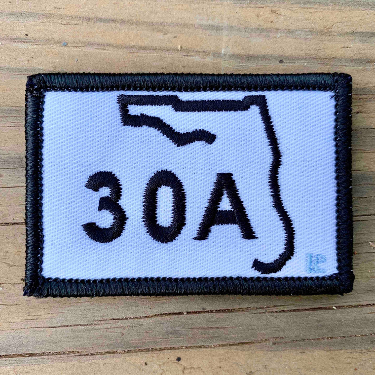 30A White 2x3 Loyalty Patch
