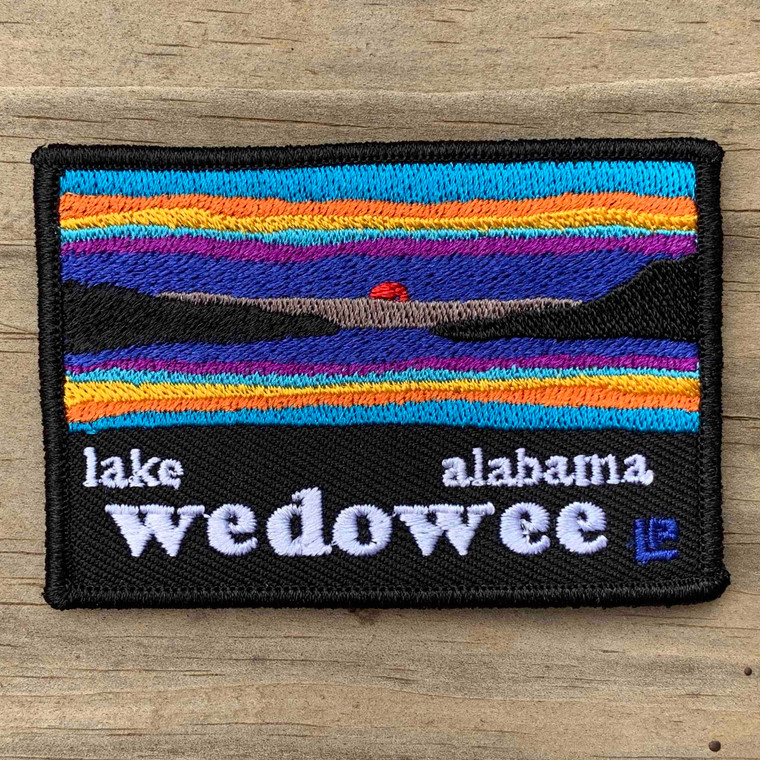 Lake Wedowee Sunset 2x3 Loyalty Patch