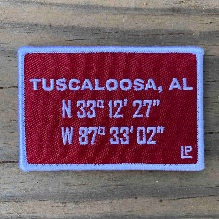 Tuscaloosa Stadium Coordinates 2x3 Loyalty Patch