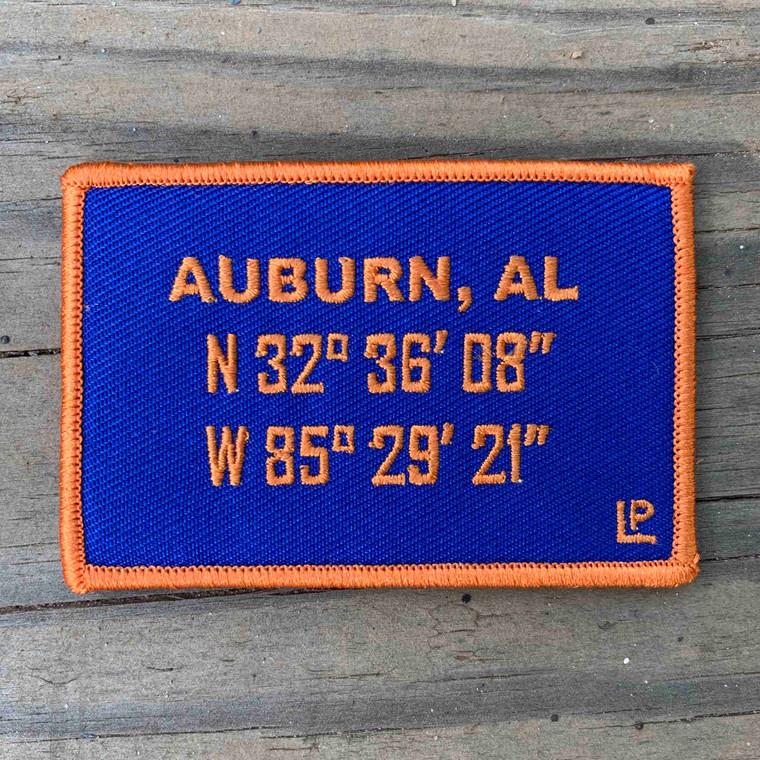 Auburn Stadium Coordinates 2x3 Loyalty Patch