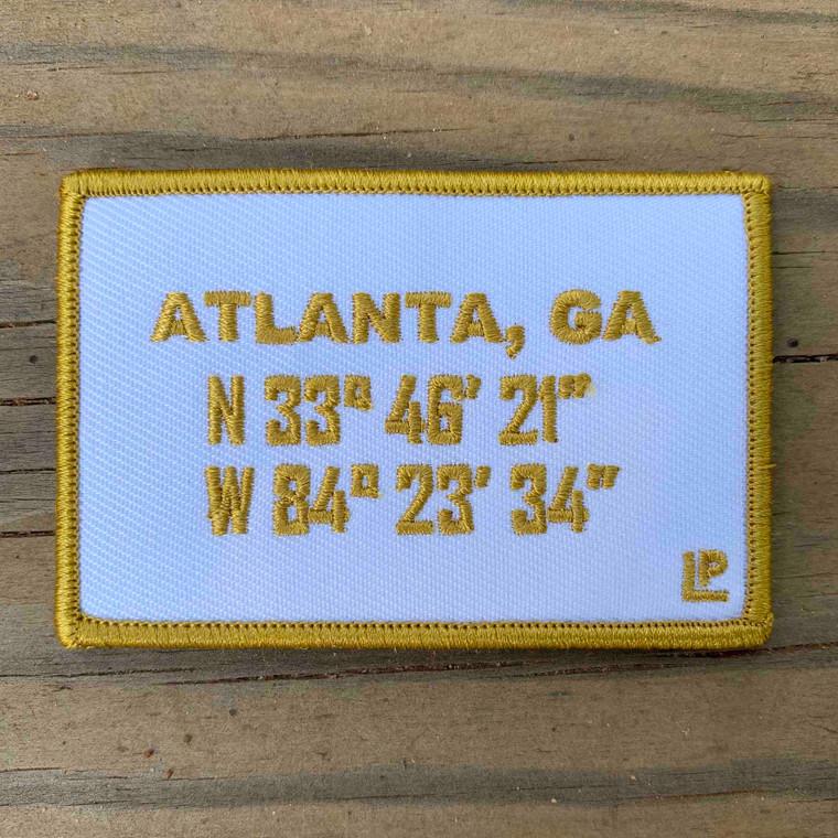 Atlanta Stadium Coordinates 2x3 Loyalty patch