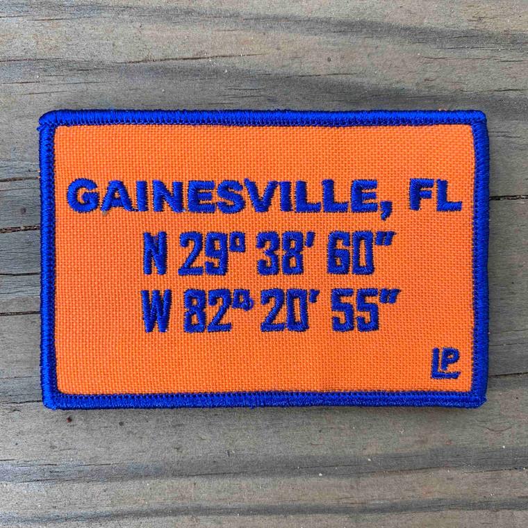 Gainesville Stadium Coordinates 2x3 Loyalty Patch