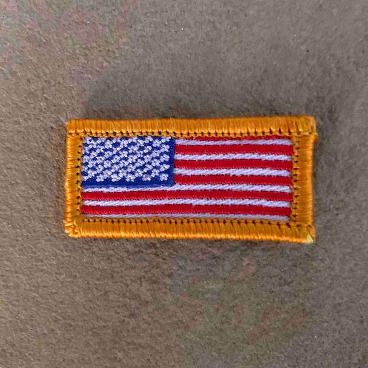 USA Flag 1x2 Loyalty Badge