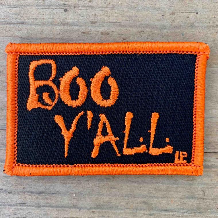 Boo Y'all 2x3 Loyalty Patch