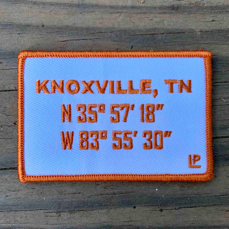 Knoxville Stadium Coordinates 2x3 Loyalty Patch