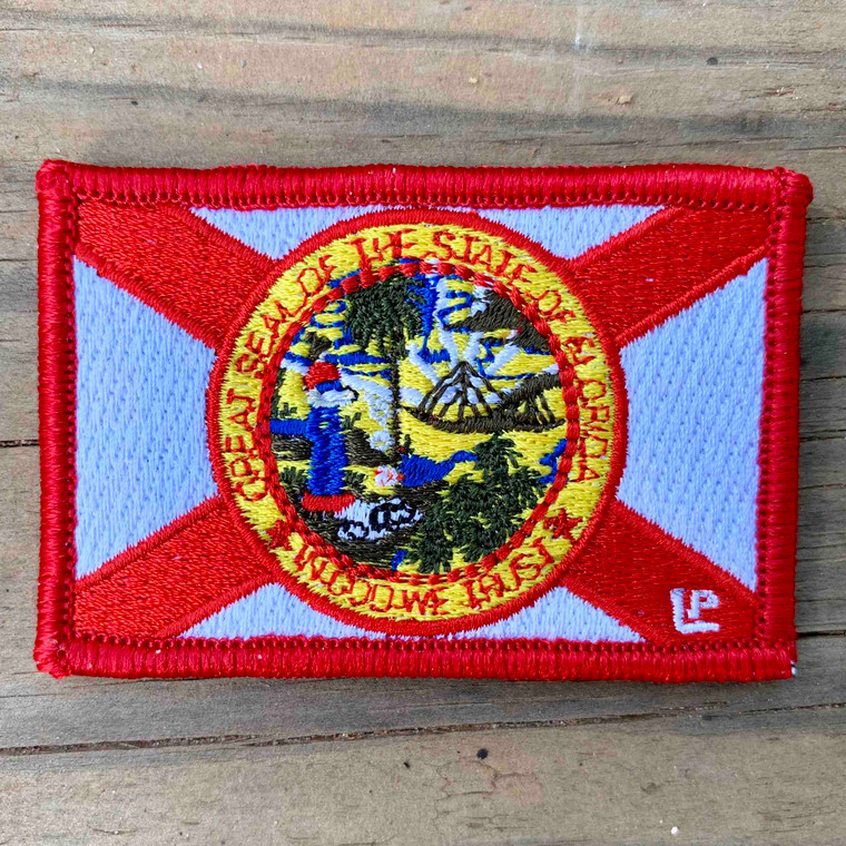 Florida State Flag 2x3 Loyalty Patch