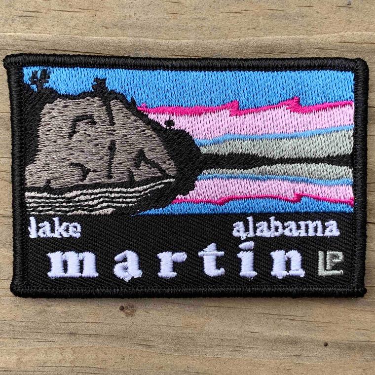 Lake Martin Sunset 2x3 Loyalty Patch
