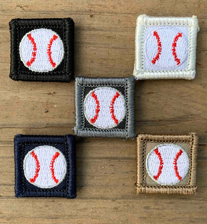 Baseball 1x1 Loyalty Badge