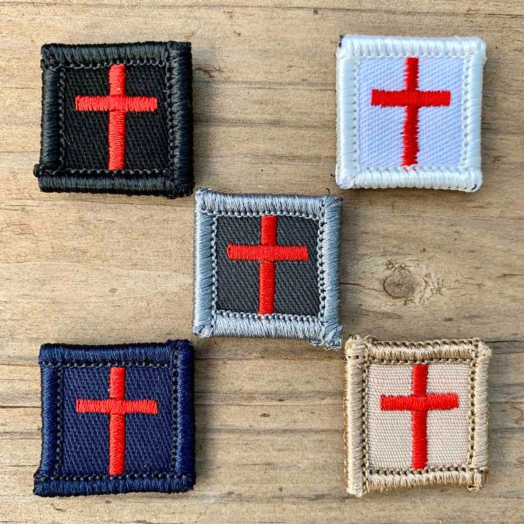 Cross Red 1x1 Loyalty Badge
