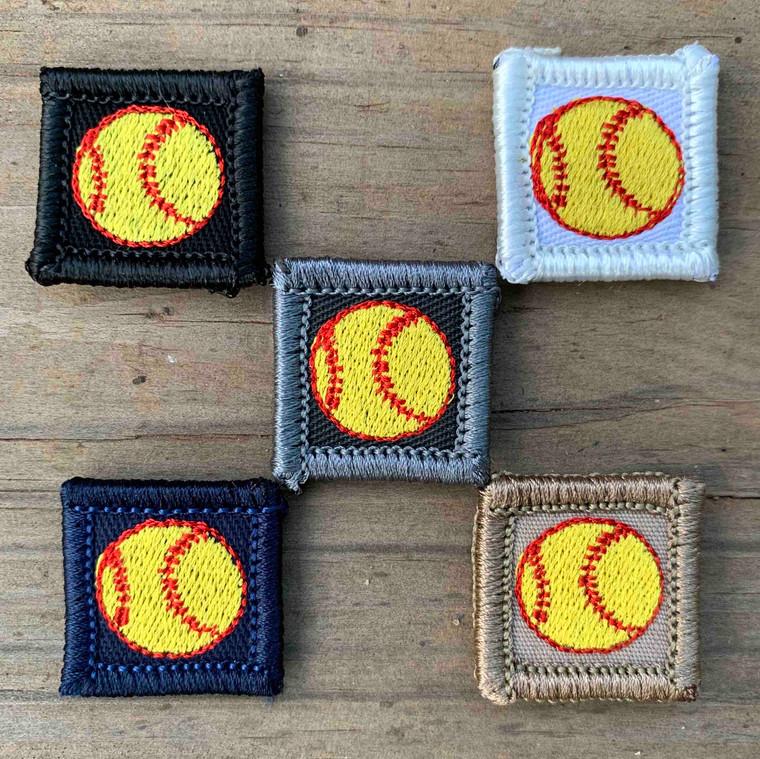Softball 1x1 Loyalty Badge