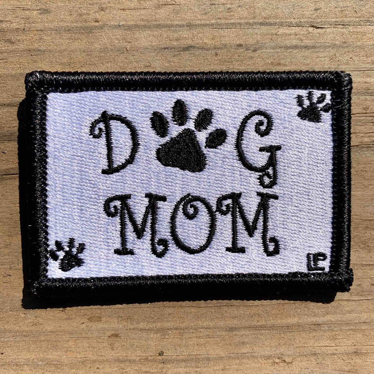 Dog Mom 2x3 Loyalty Patch