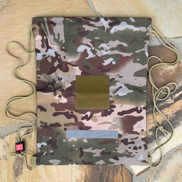 Drawstring Backpack - Camouflage