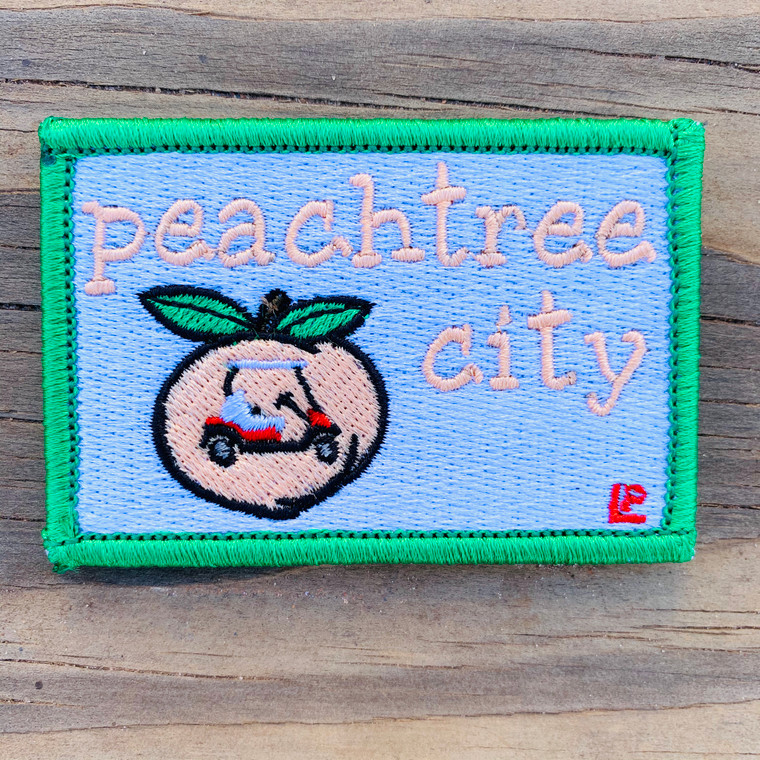 Peachtree City 2x3 Loyalty Patch
