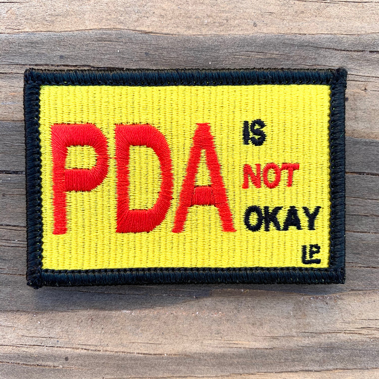 PDA is not OK 2x3 Loyalty Patch
