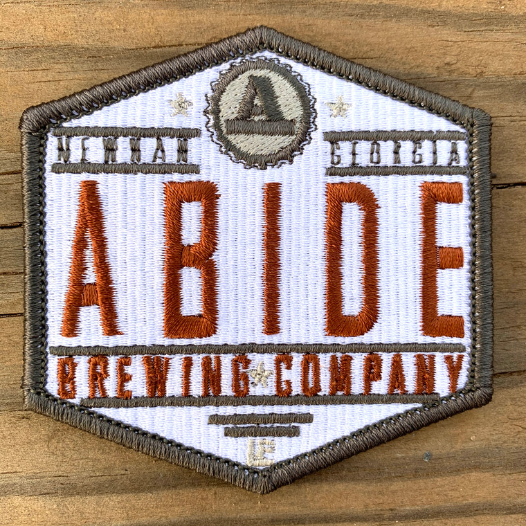 Abide Brewing Company Logo 3x3 Loyalty Patch