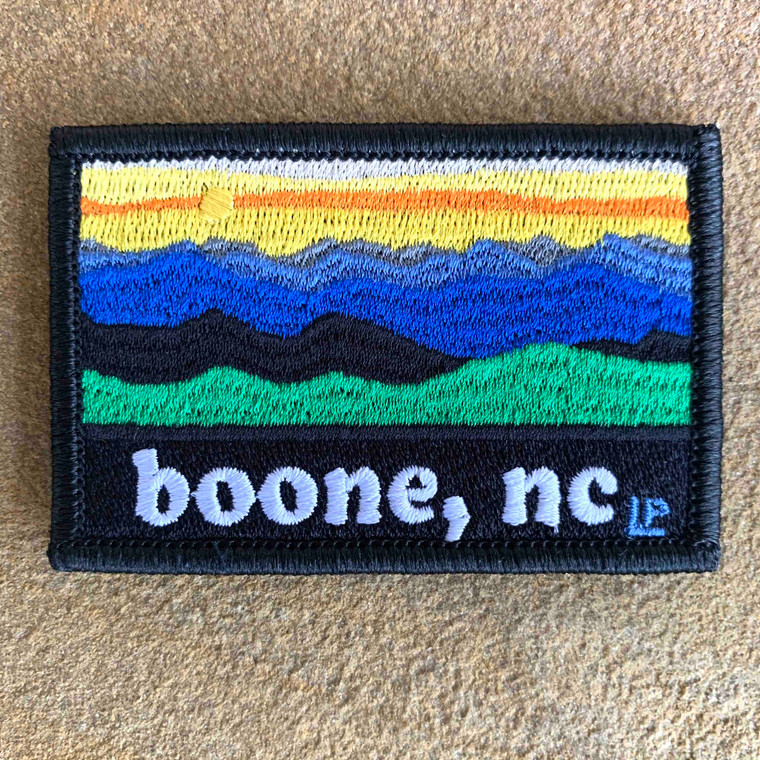 Boone Sunset 2x3 Loyalty Patch