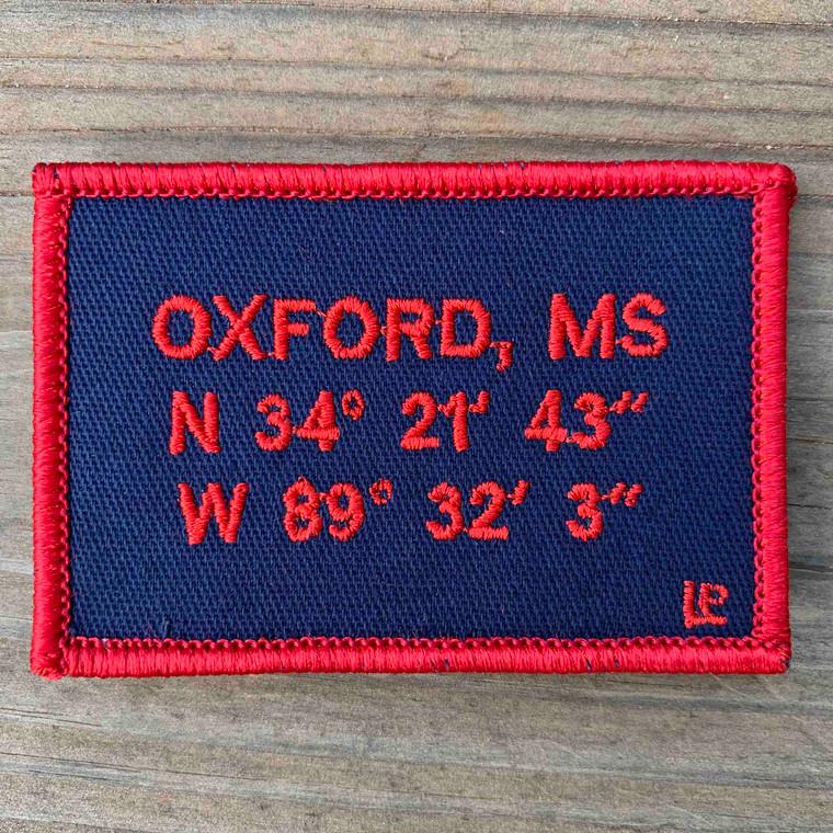 Oxford Stadium Coordinates 2x3 Loyalty Patch
