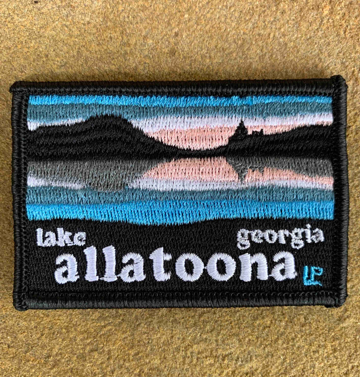 Lake Allatoona Sunset 2x3 Loyalty Patch