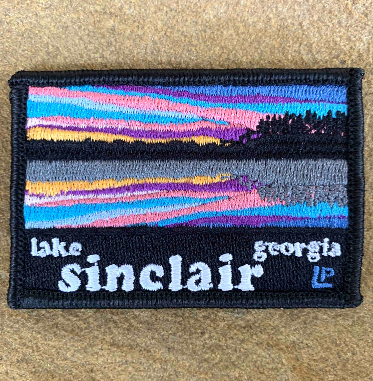 Lake Sinclair Sunset 2x3 Loyalty Patch
