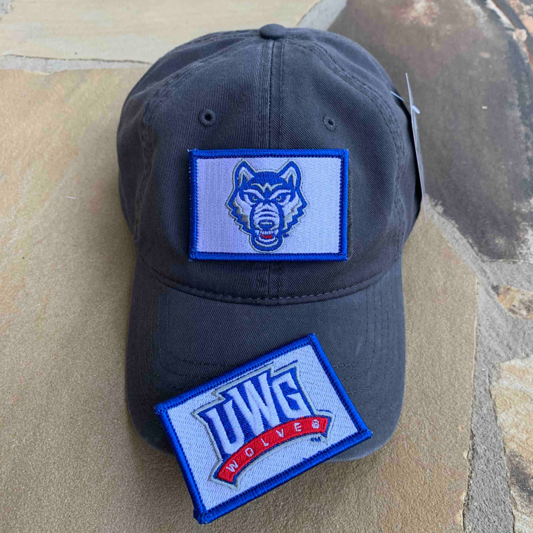 UWG Gift Set - Charcoal Dad Hat with Two Patches