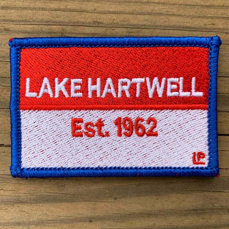 Lake Hartwell Nautical Established 2x3 Loyalty Patch