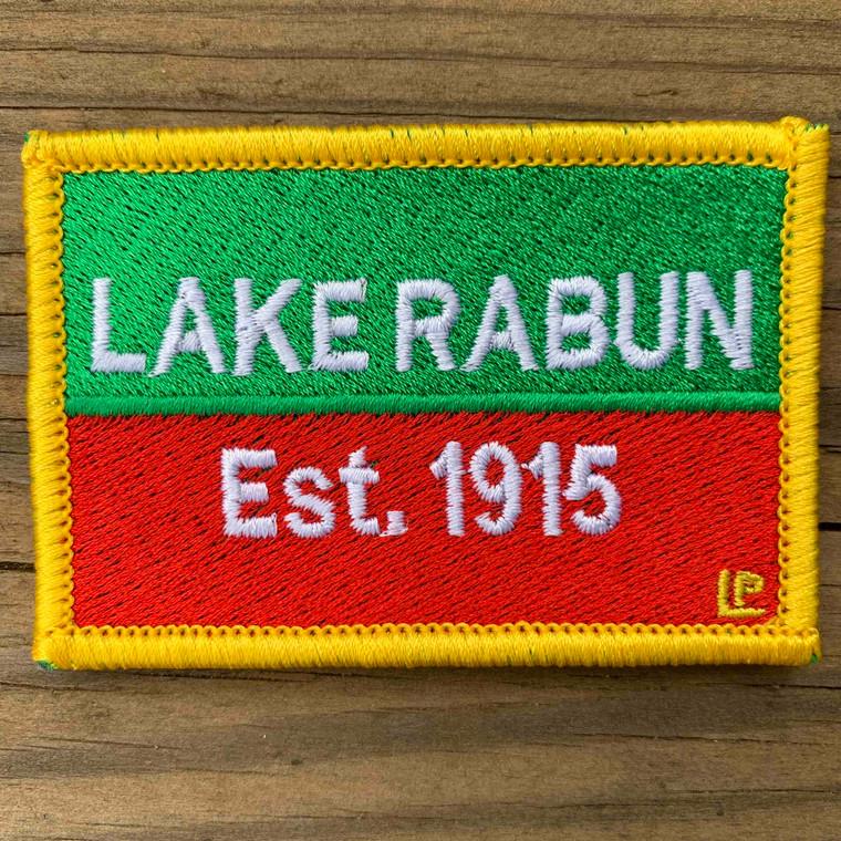 Lake Rabun Nautical Established 2x3 Loyalty Patch