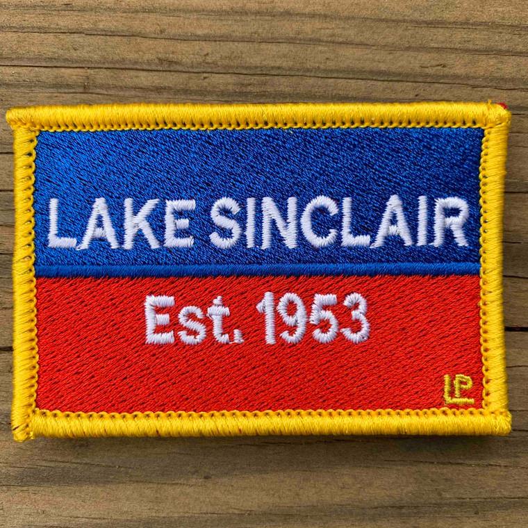 Lake Sinclair Nautical Established 2x3 Loyalty Patch