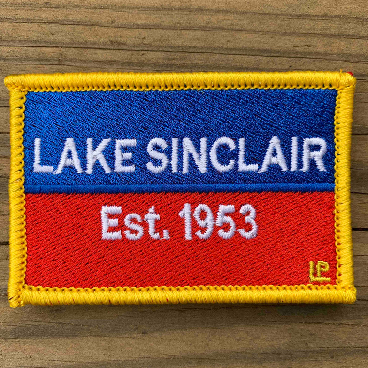 Lake Sinclair Nautical Established 2x3 Loyalty Patch