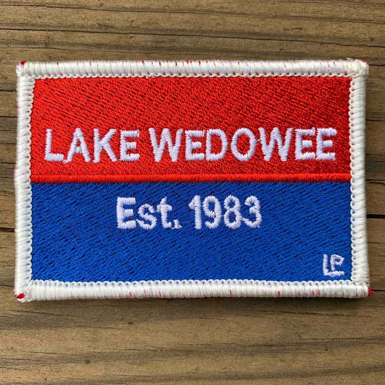 Lake Wedowee Nautical Established 2x3 Loyalty Patch