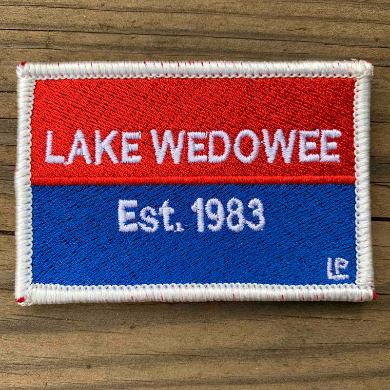 Lake Wedowee Nautical Established 2x3 Loyalty Patch