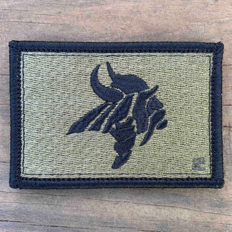 Northgate High School OCP Scorpion Colors 2x3 Loyalty Patch