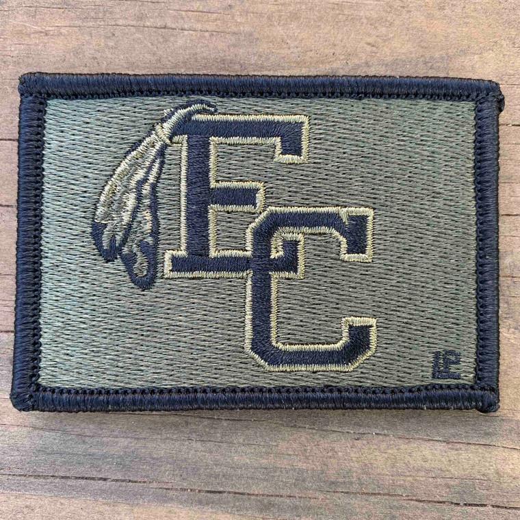 East Coweta High School OCP Scorpion Colors 2x3 Loyalty Patch