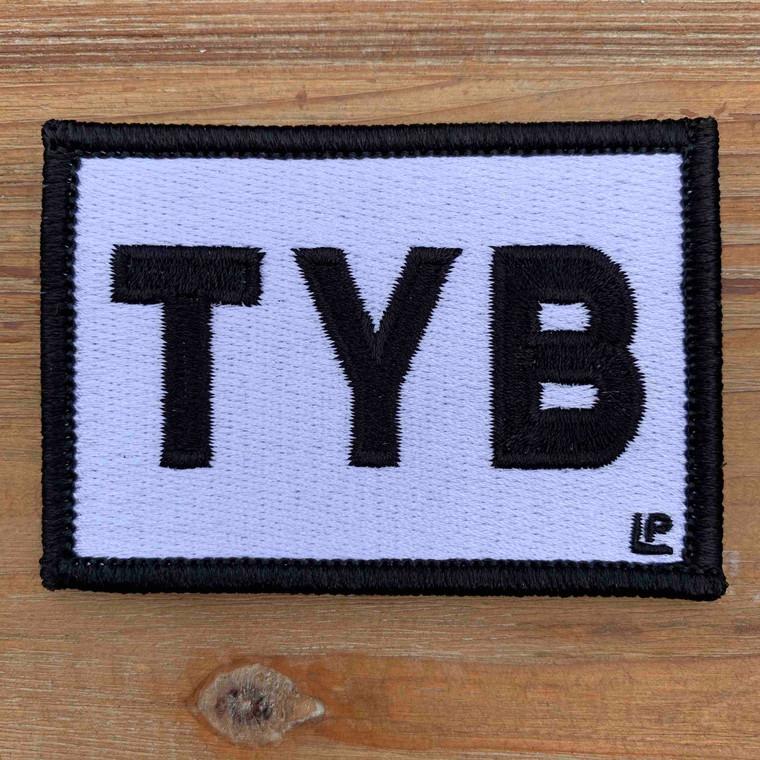 Tybee Island TYB 2x3 Loyalty Patch