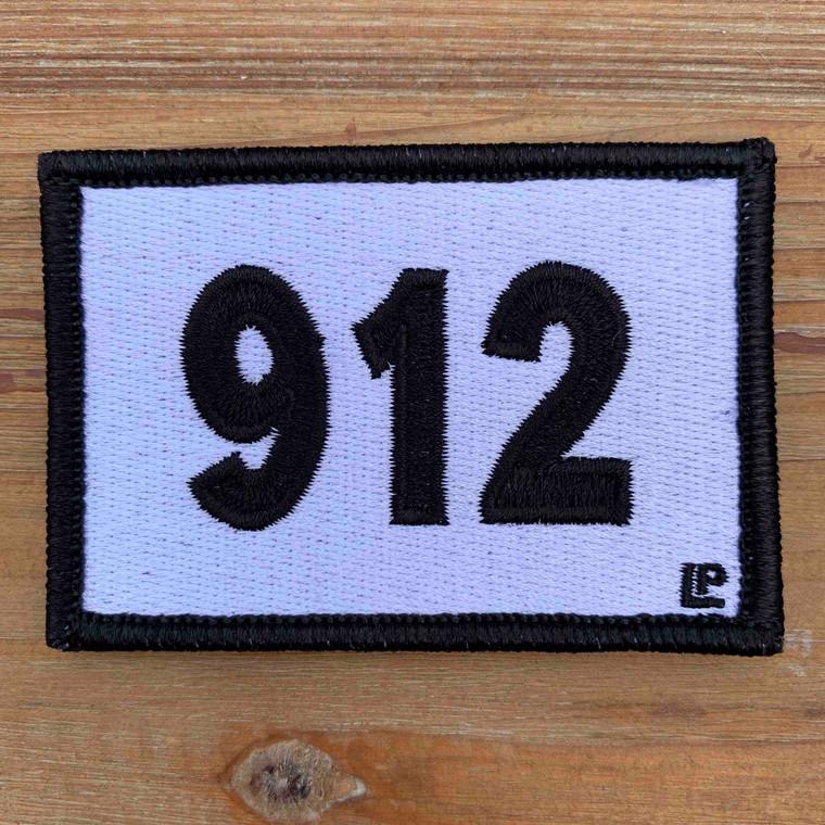 912 Georgia Area Code 2x3 Loyalty Patch