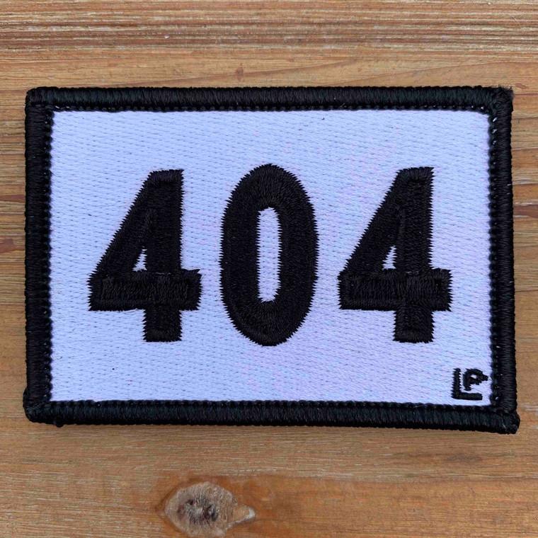 404 Georgia Area Code 2x3 Loyalty Patch