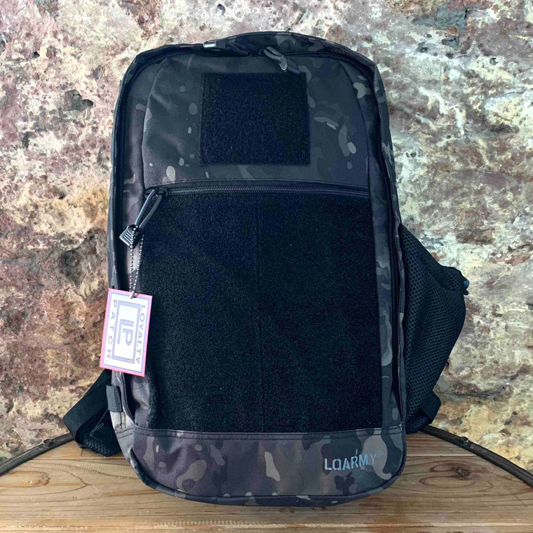 Patch Collector Backpack - Black OCP Camouflage front view