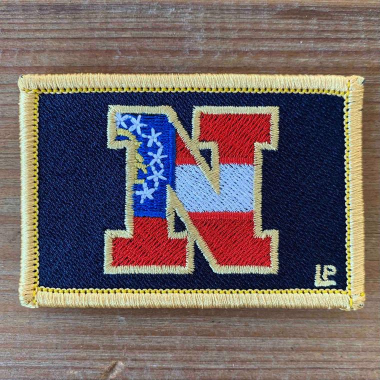 Newnan High School 2x3 Loyalty Patch Georgia Flag