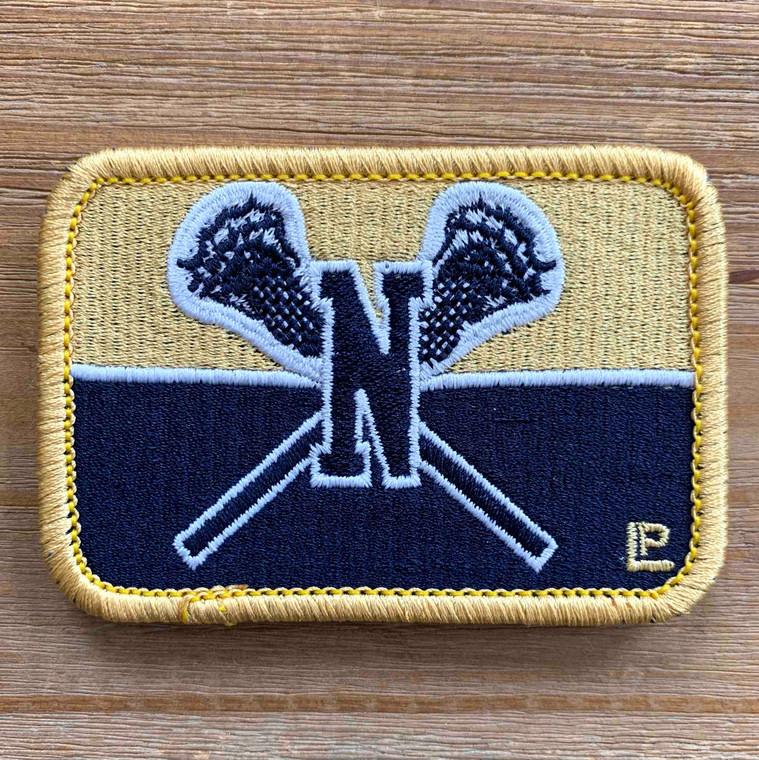 Newnan High School 2x3 Loyalty Patch Lacrosse Sticks