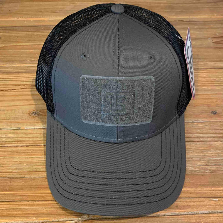 Ball Cap - Charcoal Gray with Black Mesh