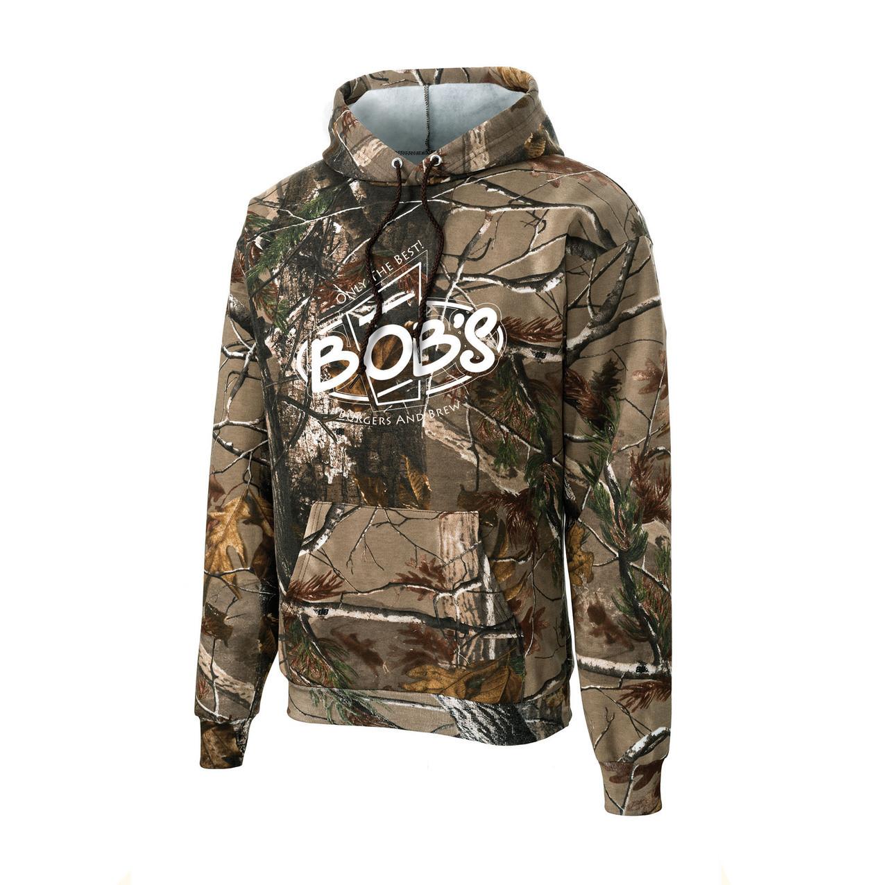 Bob s Camo Hooded Sweatshirt - Advantage Sports 2d548226ebb