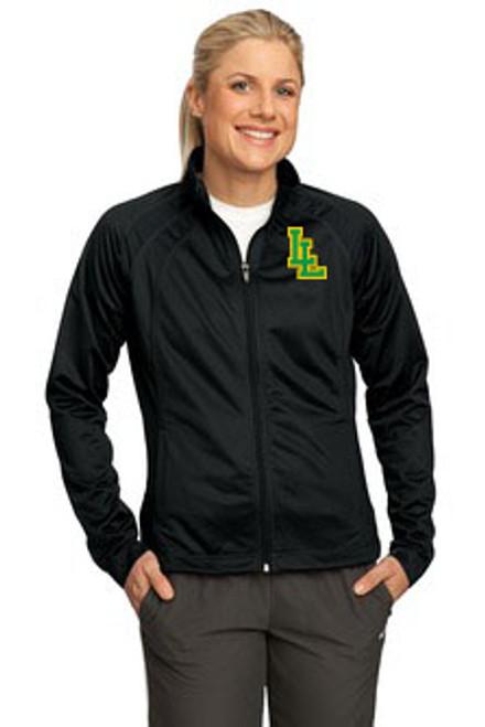 Ladies Lynden Applique Tricot Track Jacket