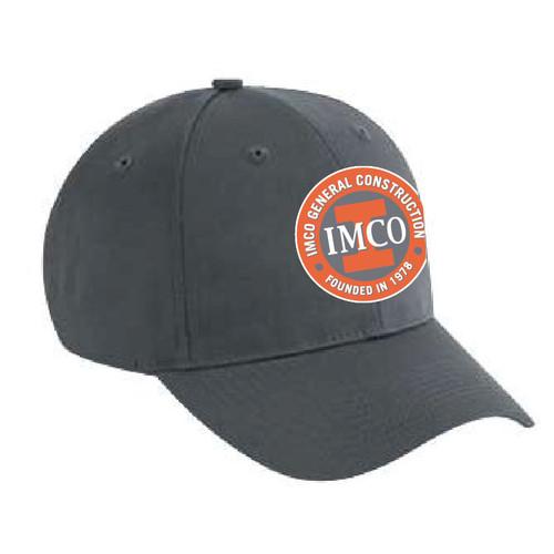 IMCO Cotton Twill Low Profile Cap - Graphite