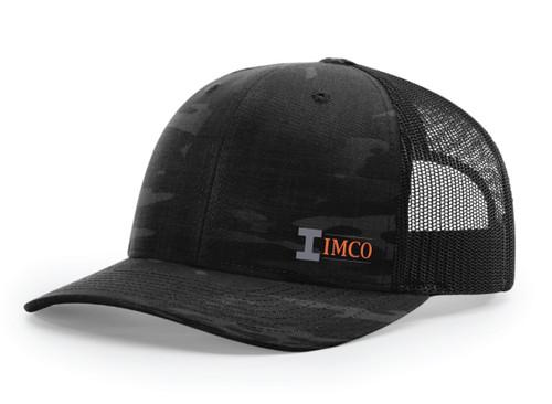 Imco logo - Dark Grey & Orange